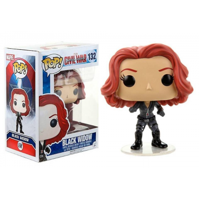 Captain America Civil War Black Widow Pop! Funko Marvel Vinyl figure