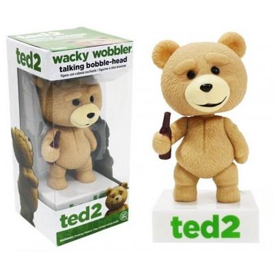 Bobble-head Ted parlante talking wacky wobbler ufficiale orsetto film by Funko