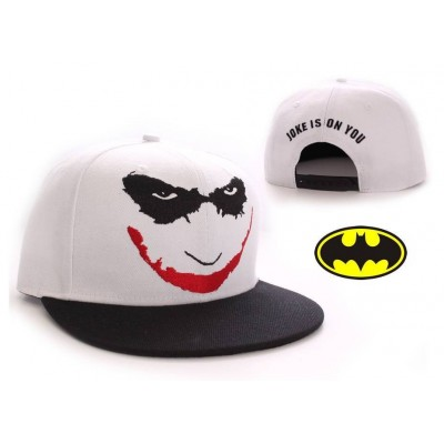 Cappello Batman The Dark Knight Joker Face Snapback Cap Hat DC Comics
