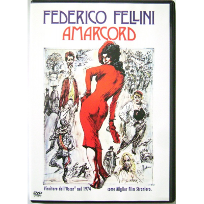 Dvd Amarcord di Federico Fellini 1973 Nuovo