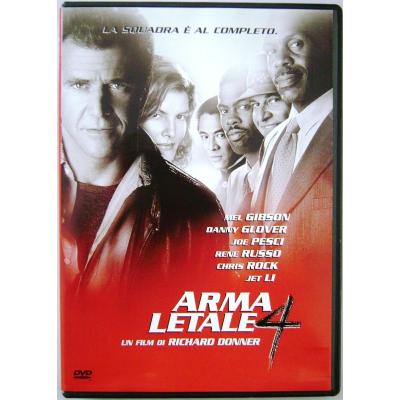 Dvd Arma letale 4 ed. Snapper Usato