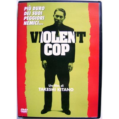Dvd Violent Cop di Takeshi Kitano 1990 Usato