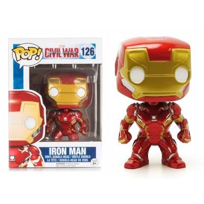 Captain America Civil War Iron Man Pop! Funko Marvel Vinyl figure