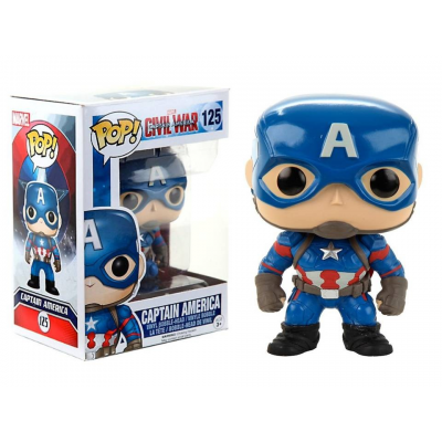 Captain America Civil War Pop! Funko Marvel Vinyl figure n° 125