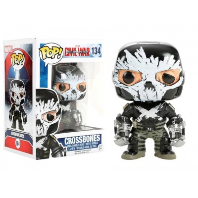 Captain America Civil War Crossbones Pop! Funko Marvel Vinyl figure