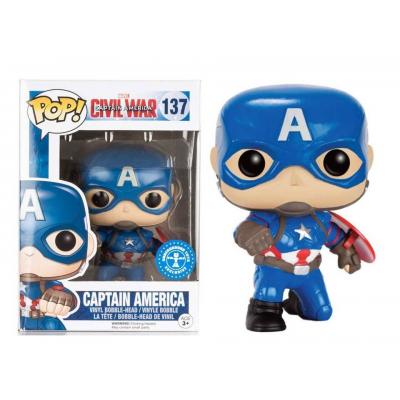 Captain America Civil War Captain America action pose Pop Funko Vinyl