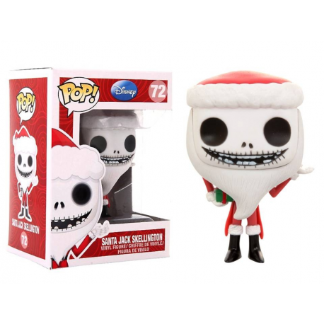 Nightmare Before Christmas Santa Jack Pop! Funko Vinyl figure n° 72