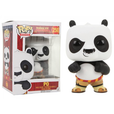 Kung Fu Panda Po Pop! Funko movies Vinyl figure n° 250