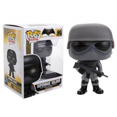Batman v Superman Dawn of Justice Superman Soldier Pop! Funko Vinyl