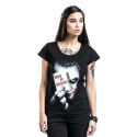 T-shirt Batman Dark Knight Joker Why So Serious woman DC