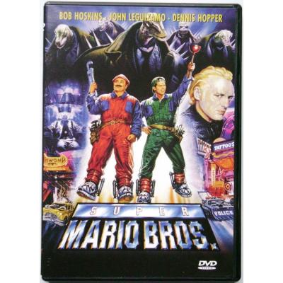 Dvd Super Mario Bros. con Bob Hoskins 1993 Usato
