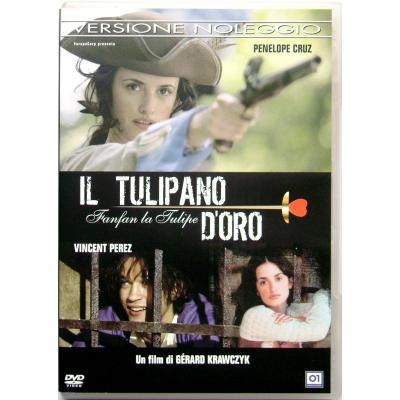 Dvd Il Tulipano d'Oro con Penélope Cruz 2003 Usato