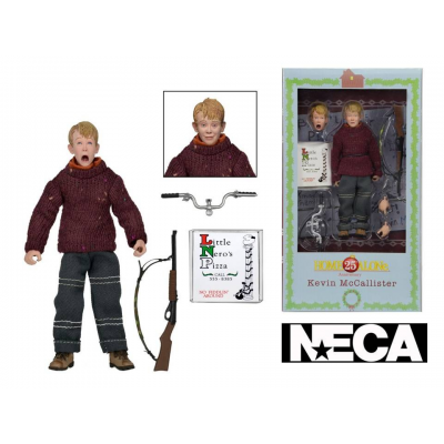 Action Figure Home Alone Kevin McCallister Retro Clothed Neca