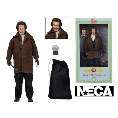 Action Figure Home Alone Marv Merchants Retro Clothed 8-Inch 18 cm Neca