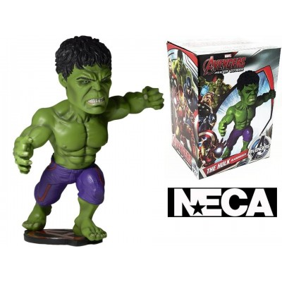 Bobble-head The Hulk Marvel Avengers Age of Ultron Head knocker Neca
