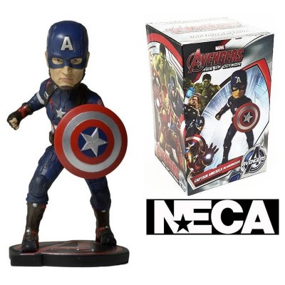 Bobble-head Captain America Marvel Avengers Age of Ultron Neca