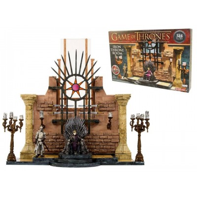 Game of Thrones Iron Throne Room Building Set McFarlane 314 pcs