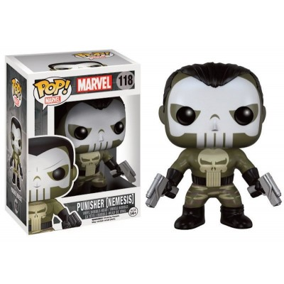 The Punisher Nemesis Pop! Funko Marvel Vinyl bobble-head figure n° 118