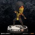 Bobble-head Mortal Kombat X Scorpion Head knocker 15 cm by Mezco Toys