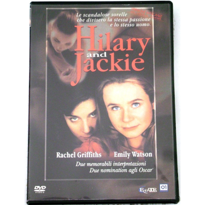 Dvd Hilary and Jackie - versione integrale con Emily Watson 1998 Nuovo