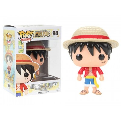 One Piece Monkey D. Luffy Pop! Funko animation Vinyl figure n° 98