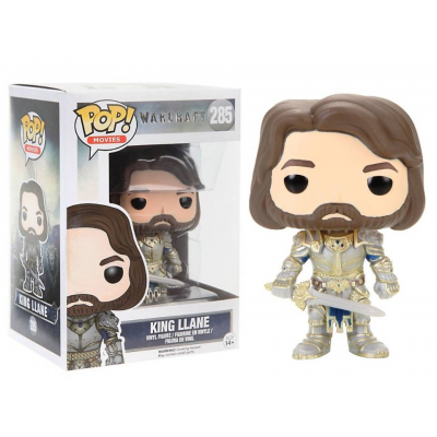 Warcraft King Llane Pop! Funko movies Vinyl figure n° 285