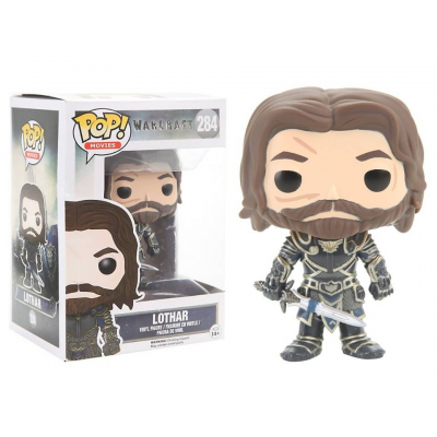 Warcraft Lothar Pop! Funko movies Vinyl figure n° 284