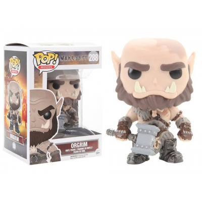 Warcraft Orgrim Pop! Funko movies Vinyl figure n° 288
