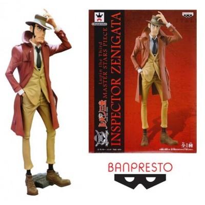 Statua Lupin The Third Master Stars Inspector Zenigata Banpresto