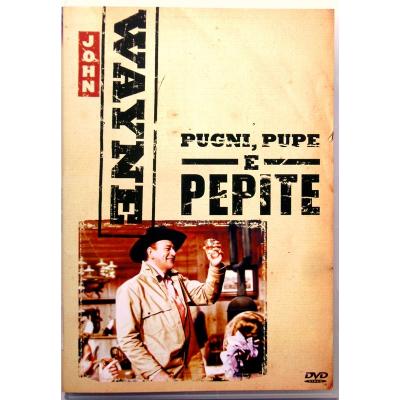 Dvd Pugni, pupe e pepite con John Wayne 1960 Usato