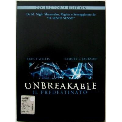 Dvd Unbreakable - Il predestinato - Collector's Edition 2 dischi Usato