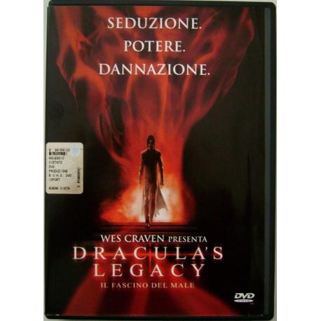 Dvd Dracula's legacy - Il fascino del male con ologramma tondo 2000 Usato