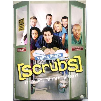 Dvd Scrubs - Medici ai primi ferri - Stagione 3 Terza serie 4 dischi