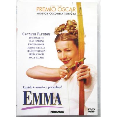 Dvd Emma con Gwyneth Paltrow 1996 Usato