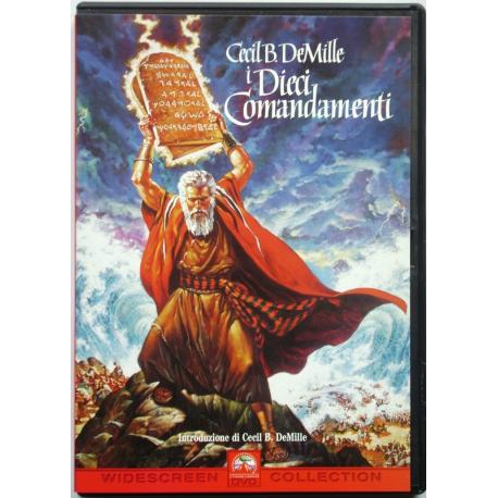 Dvd I Dieci Comandamenti - ed. 2 dischi di Cecil B. DeMille 1956