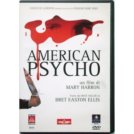 Dvd American Psycho con Christian Bale 2000 Usato