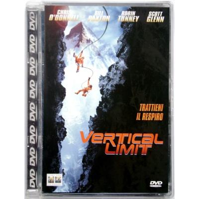 Dvd Vertical Limit - Super jewel box con Chris O'Donnell 2001 Usato