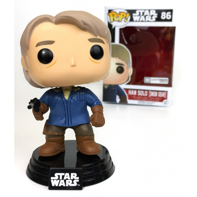 Han Solo Snow Gear Star Wars Pop! Funko bobble-head Vinyl figure