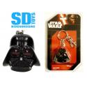 Star Wars Darth Vader Helmet PVC Keychain SD TOYS