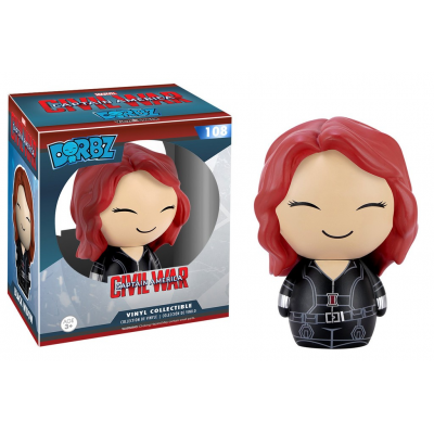 Dorbz Captain America Civil War Black Widow Marvel Vinyl Sugar