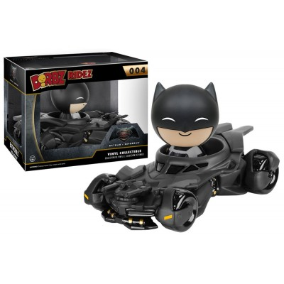 Dorbz Ridez Batman v Superman Batmobile with Batman Vinyl Sugar