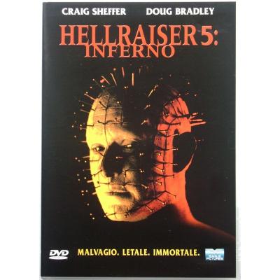 Dvd Hellraiser 5 - Inferno di Scott Derrickson 2000 Usato