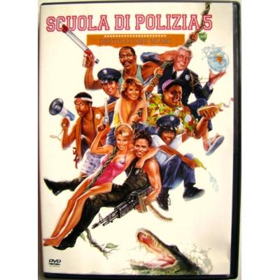 Dvd Scuola di Polizia 5 - Destinazione Miami 1988 Usato raro fuori catalogo