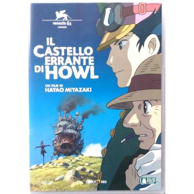 Dvd Il Castello Errante di Howl di Hayao Miyazaki 2004 Usato