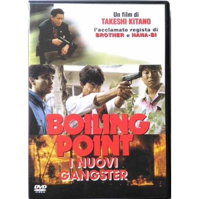 Dvd Boiling Point - I Nuovi Gangster di Takeshi Kitano 1990 Usato