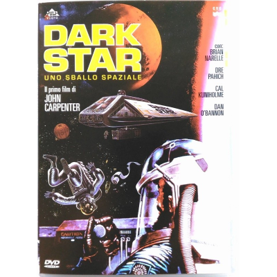 Dvd Dark Star - ed. Pulp video di John Carpenter 1973 Usato