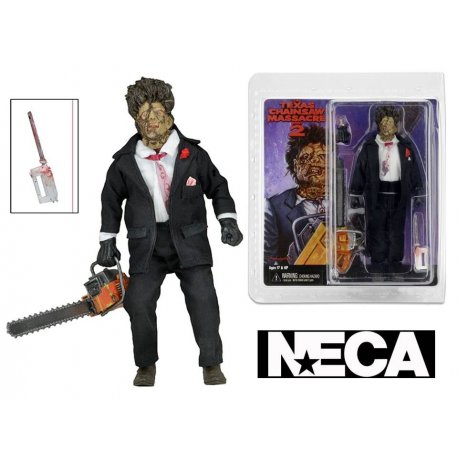 Action figure Texas Chainsaw Massacre 2 Leatherface retro Clothed Neca