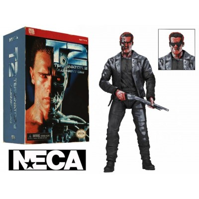 Action figure Terminator 2 T-800 Classic video game T2 by Neca