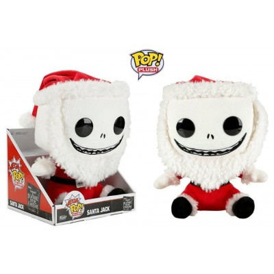 Peluche Nightmare Before Christmas Santa Jack Mega Pop! Plush Funko