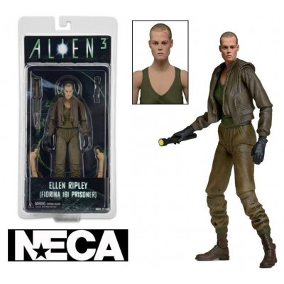 Action figure Aliens Hicks Vs. Battle Damaged Blue Warrior Alien 2-pack by Neca